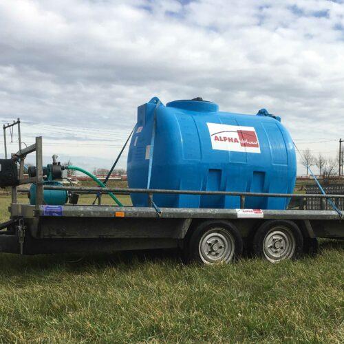 Alpha Verhuur Waterwagen 1500 liter